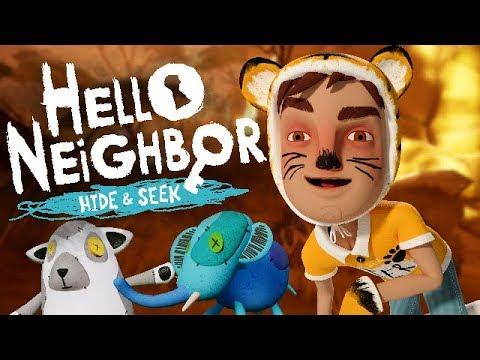 THIS GUY HAS ISSUES - Hello Neighbor: Hide & Seek |