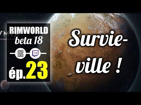 [FR] le VAISSEAU des GRILLE-PAINS !! Survie-ville dans le Dernier Espoir ! Rimworld épisode 23