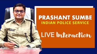 Prashant Sumbe IPS (DCP Traffic, Surat City) Live with Nirav Da