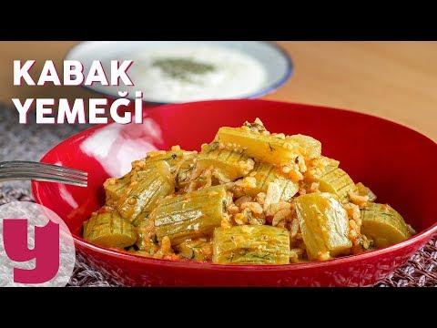 Kabak Yemeği Tarifi - Ev Yemekleri Tarifleri | Yemek.com