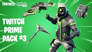 "*NEW* Fortnite ""Twitch Prime Pack #3 Showcase!"" - How To Get ""FREE Archetype"" Twitch Prime Skin Set!"