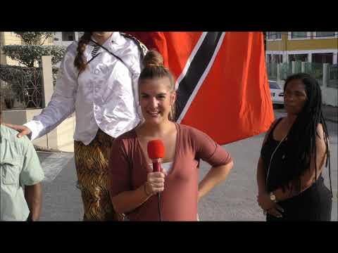 Overseas Students in Cultural Immersion in San Fernando @ Kaisokah Mokojumbies 17,04,2018