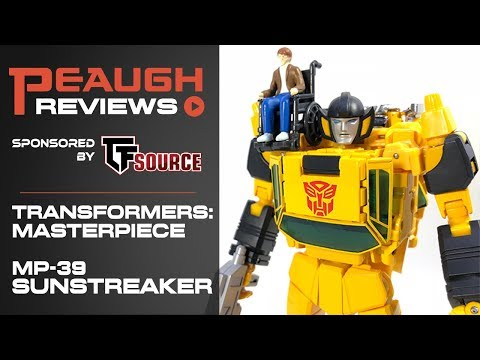 Video Review: Transformers Masterpiece - MP-39 SUNSTREAKER
