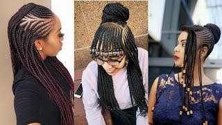Beautiful Braids Hairstyles 2019 : Best Latest Styles That Turn Heads