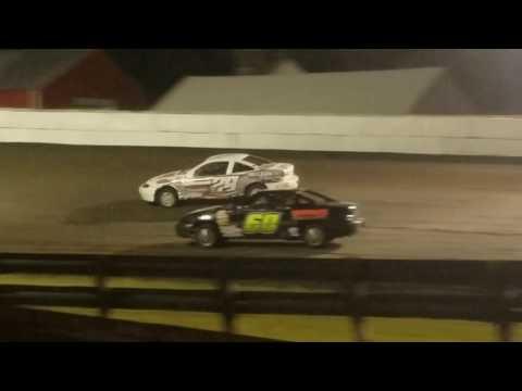 Dustin Virkus @ Madison Speedway- Feature 7.15.17