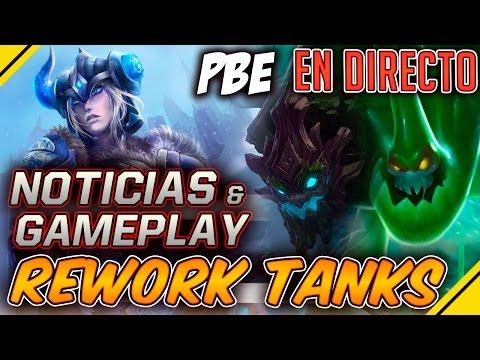 NUEVOS TANKS y SKINS -  PBE GAMEPLAY  | Noticias League Of Legends