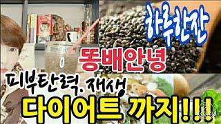 [똥배안녕]다이어트와 피부재생의 끝판왕#치아씨드#항산화…