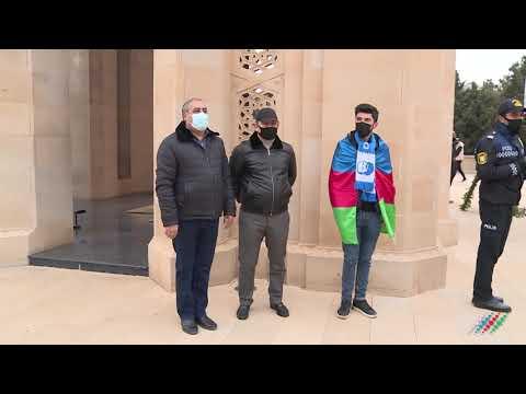 Минутой молчания в Азербайджане почтили память погибших во второй Карабахской войне