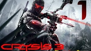 NEW: Прохождение Crysis 3 (HD) -  Часть 1 (Пробуждение)