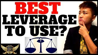 WHAT IS LEVERAGE & WHAT LEVERAGE IS BEST IN FOREX TRADING ? (RISK EXPLAINED)