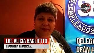 Lic. Alicia Baglietto en la Expo Carreras de la ciudad de Deán Funes // Radio Cero