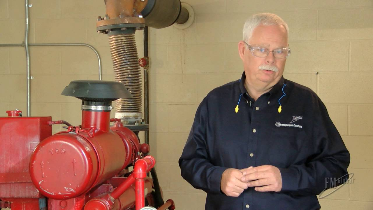 Know More Risk: Diesel fire pump inspection and manual starting