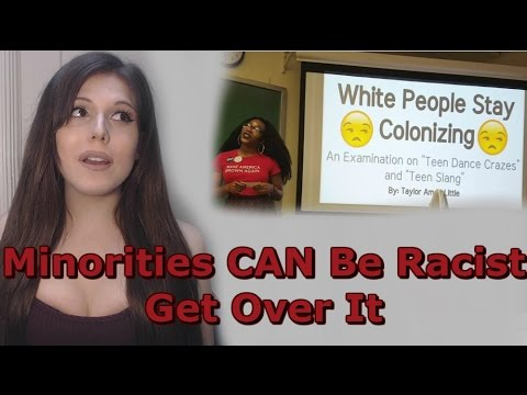 Thumbnail: Minorities CAN Be Racist, Get Over It