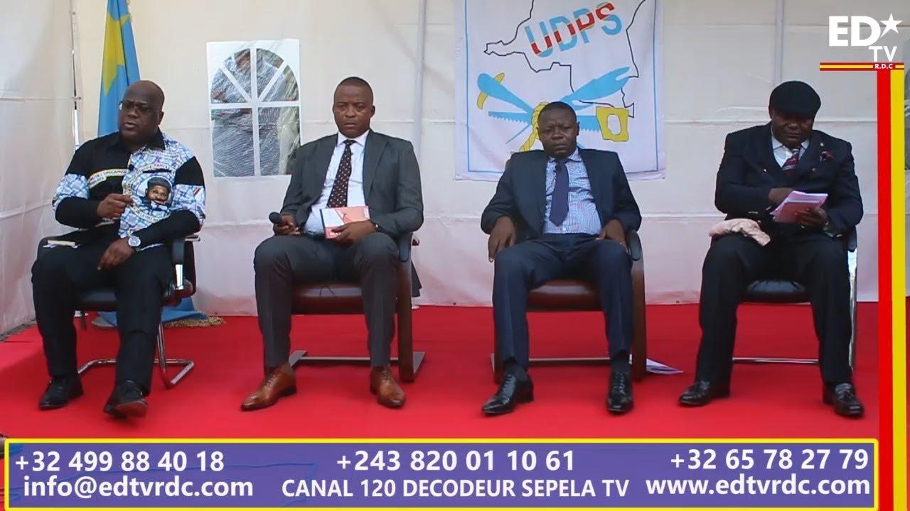 LE MOMENT FORT DE L'EXERCICE DE LA DÉMOCRATIE QUE L'UDPS VIENT D'OFFRIR A LA NATION CONGOLAISE