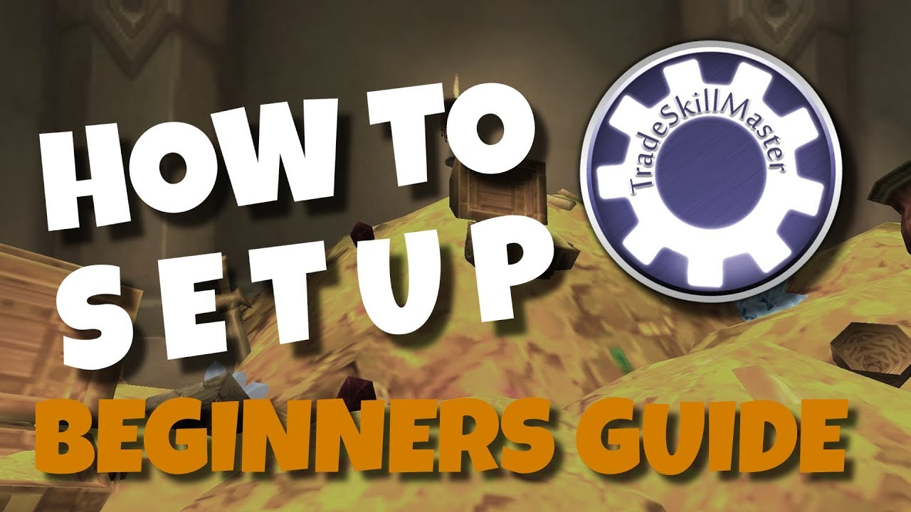 How to start with TSM |Auction and Shopping Operations | Beginners Tutorial