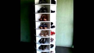 Sapateira Giratoria - Lazy Susan Shoe Rack