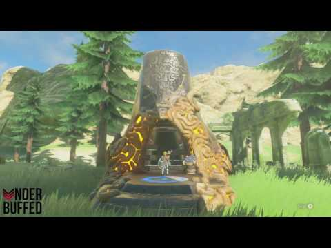 [Zelda BotW] The Ancient Rito Song Quest Guide - Bareeda Naag Shrine (All Chests)