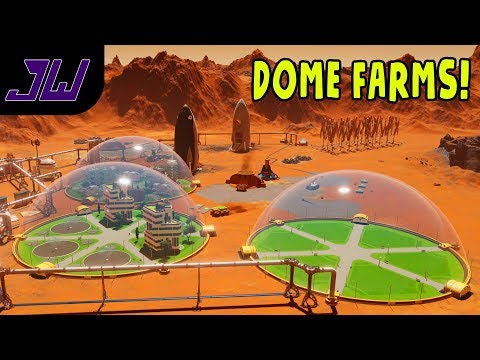 When there's no food you need... DOME FARMS! | Surviving Mars Full Release Gameplay | Episode 3
