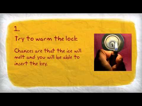 How to Prevent a Car Lock From Freezing