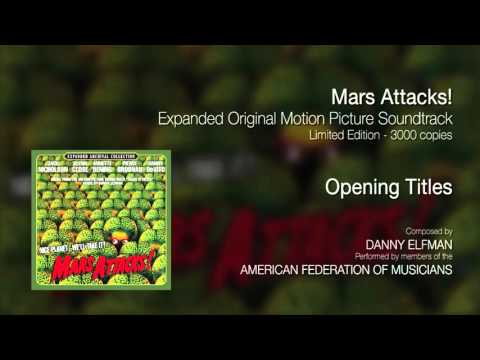 Mars Attacks! OST - Opening Titles (Expanded Soundtrack - Limited Edition)