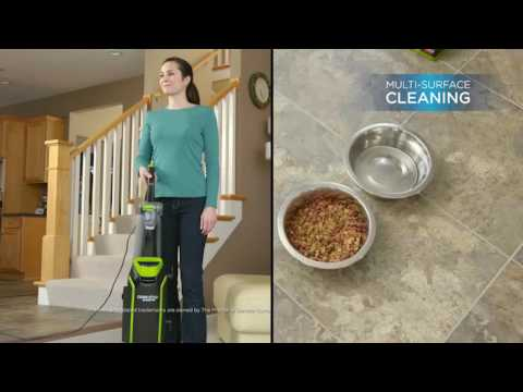 How to use the CleanView® Bagged Pet Upright Vacuum Cleaner | BISSELL