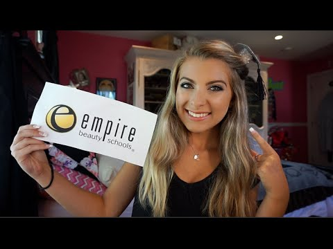 MY EMPIRE BEAUTY SCHOOL EXPERIENCE !