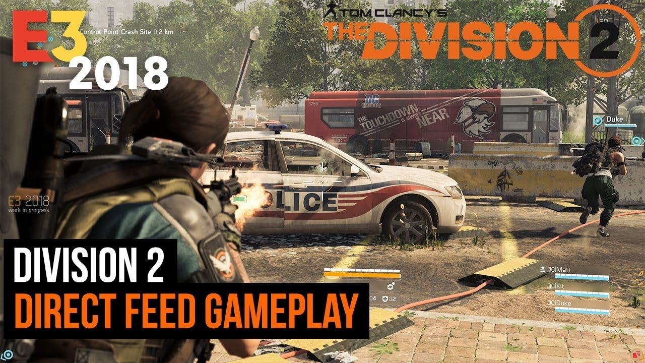 Division 2 - 15 minutes of gameplay (Direct Feed)