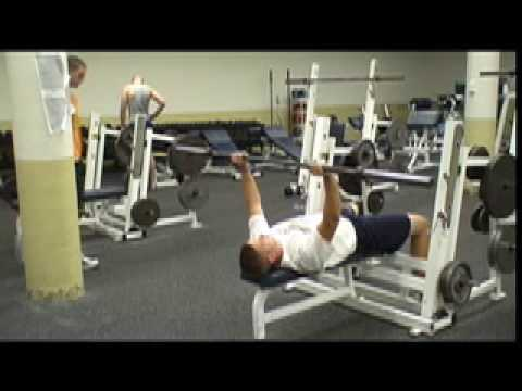Bent Arm Barbell Pullover - YouTube