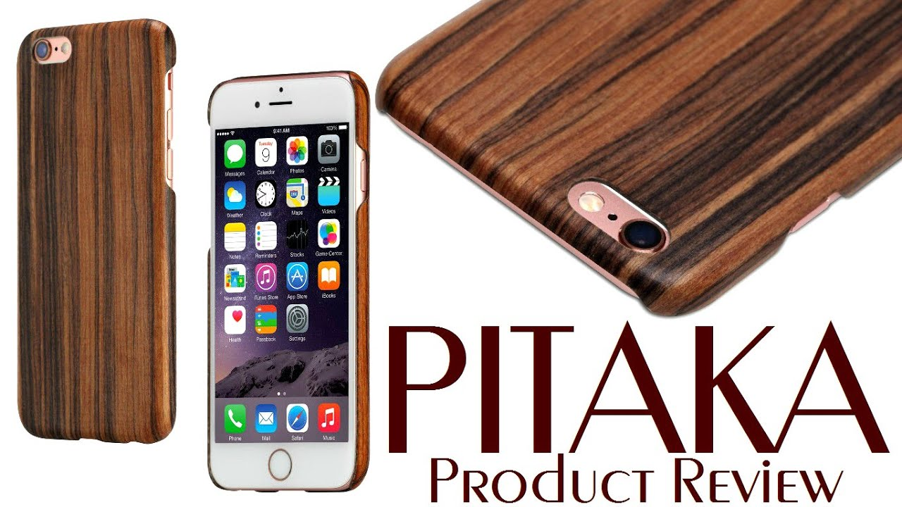 size 40 4e380 6315d PITAKA Premium Carbon Wood Case Santos Rosewood For iPhone 6 6s 6Plus 7  Product Review