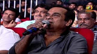 Brahmanandam Funny Speech   Attarintiki Daredi Audio Launch HD   Pawan Kalyan, Samantha, DSP