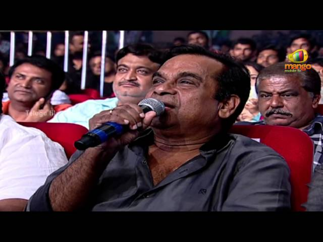 Brahmanandam Funny Speech | Attarintiki Daredi Audio Launch HD | Pawan Kalyan, Samantha, DSP Travel Video