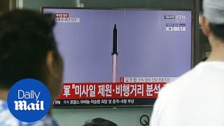 North Korea fires first intercontinental ballistic missile - Daily Mail