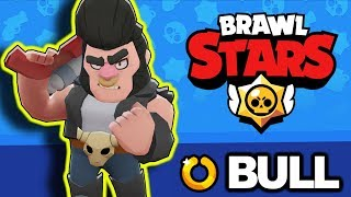 How To Use BULL | BEGINNERS GUIDE | Common Brawler [Brawl Stars]
