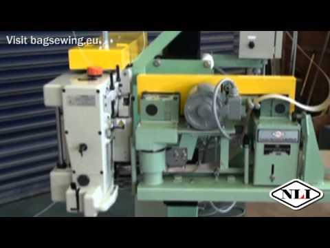 Newlong Industrial DS-9C Bag Closing Machine test; Bagsewing.eu