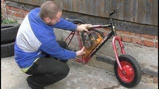 як зробити саморобний мотоцикл