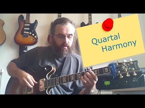 Jazz Chord Essentials   3 part Quartal Harmony