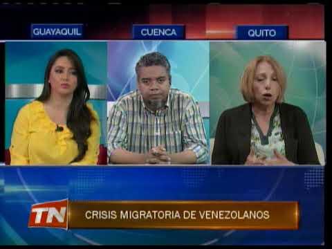 Crisis migratoria de venezolanos