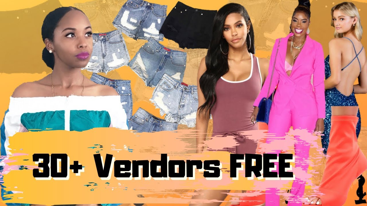 Where To Buy Wholesale Clothing Free Vendor List Youtube