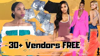 Where To Buy Wholesale Clothing   Free Vendor List