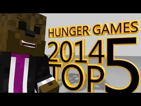 The Best Minecraft Hunger Games Compilation Of 2014 (Top 5)