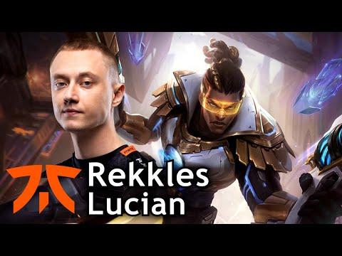 Rekkles picks Lucian