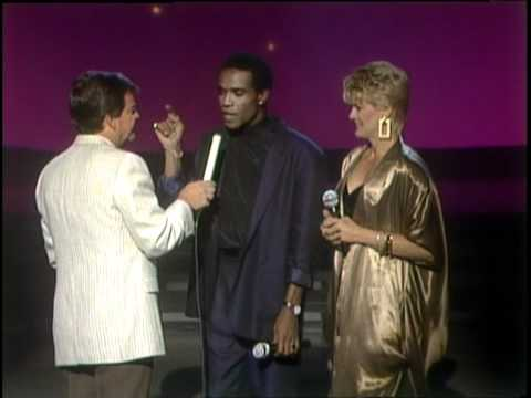Dick Clark Interviews Gloria Loring And Carl Anderson - American Bandstand 1986