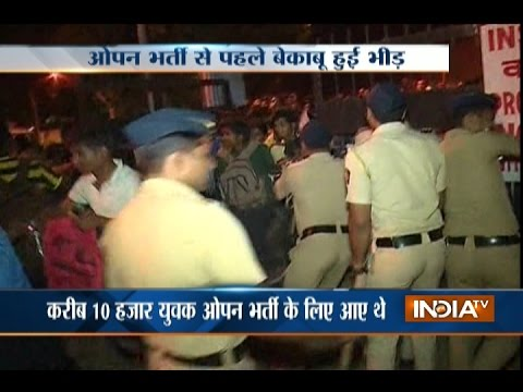 Mumbai: Stampede During Naval Exam in Malad, Several Injured