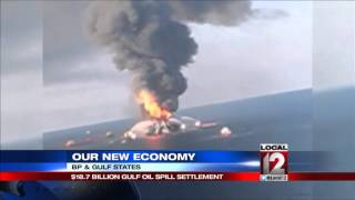Gulf states reach 8.7B settlement with BP over oil spill
