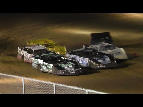 ULMS Super Late Model Dash | McKean County Raceway | Fall Classic | 10-14-16
