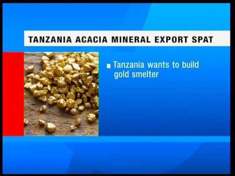 Tanzanian Acacia Mining Agrees Into A Settlement With President John Magufuli