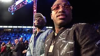 Adrien Broner & Robert Easter Seconds After Gervonta Tank Davis Win EsNews Boxing