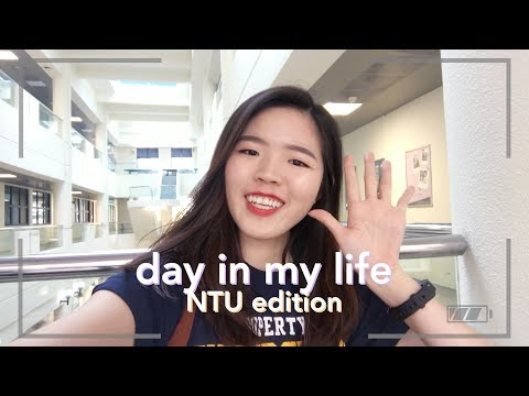 A Day In My Life | NTU (University) Edition!