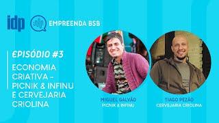 Podcast Empreenda BSB | Episódio 3 - Picnik, Infinu e Cervejaria Criolina