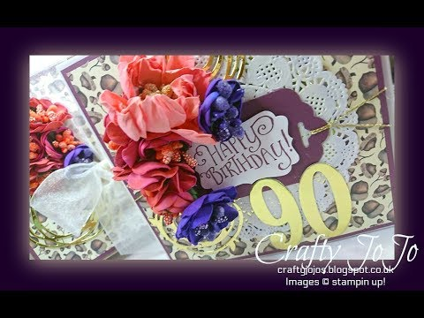 A 90th Birthday Card